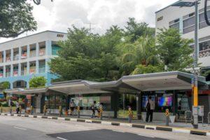 singapur bus stop