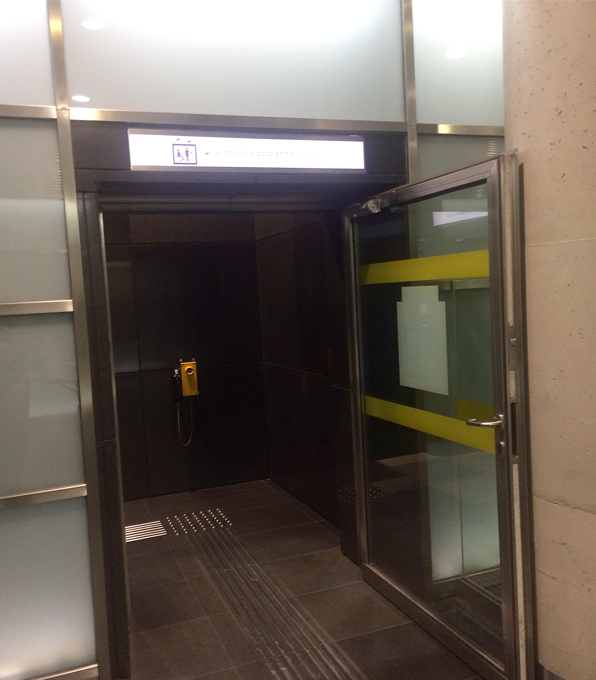 winda w metrze