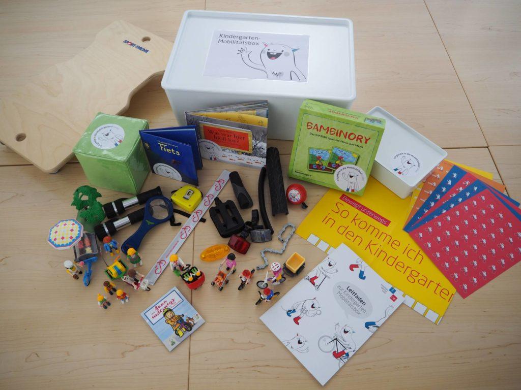 Mobilne pudełko dla dzieci